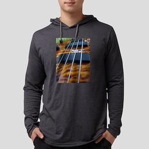 Four String Tiger Eye bass Mens Hooded Shirt