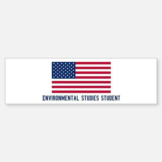 Ameircan Environmental Studie Bumper Bumper Bumper Sticker