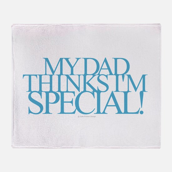Dad Special Throw Blanket