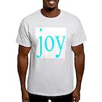 277.joy.. Ash Grey T-Shirt