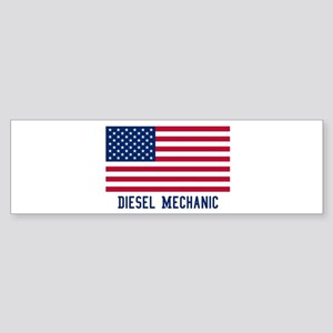 Ameircan Diesel Mechanic Bumper Sticker