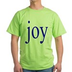 277.joy.. Green T-Shirt