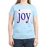 277.joy.. Women's Pink T-Shirt