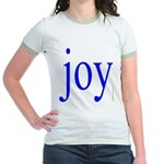 277.joy.. Jr. Ringer T-Shirt