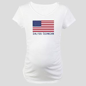 Ameircan Dialysis Technician Maternity T-Shirt