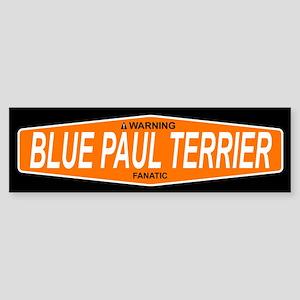 BLUE PAUL TERRIER Bumper Sticker