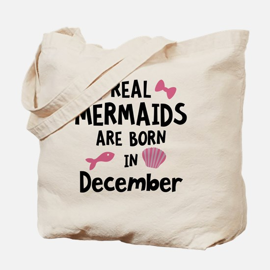 Mermaids are born in February C0w2q Tote Bag