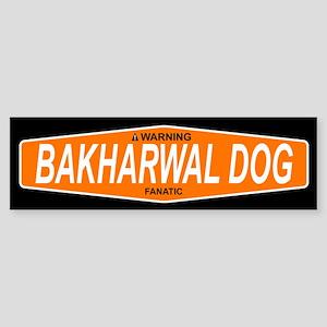 BAKHARWAL DOG Bumper Sticker
