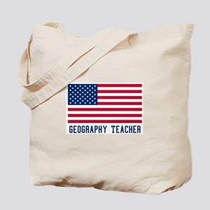Ameircan Geography Teacher Tote Bag