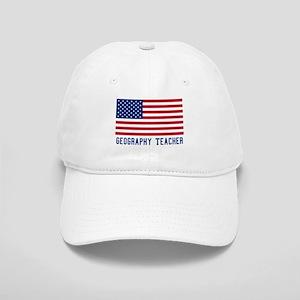 Ameircan Geography Teacher Cap