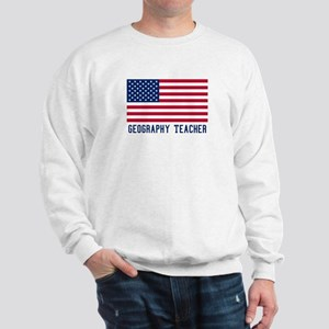 Ameircan Geography Teacher Sweatshirt