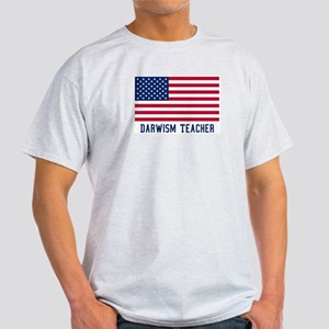 Ameircan Darwism Teacher Light T-Shirt