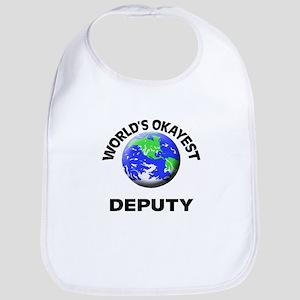 World's Okayest Deputy Bib
