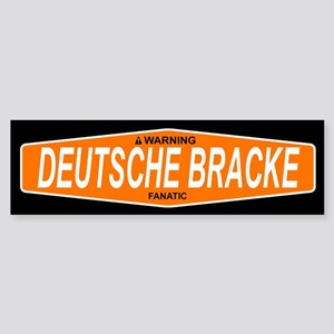 DEUTSCHE BRACKE Bumper Sticker