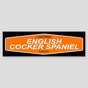 ENGLISH COCKER SPANIEL Bumper Sticker