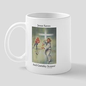 Jesus Saves! Mug