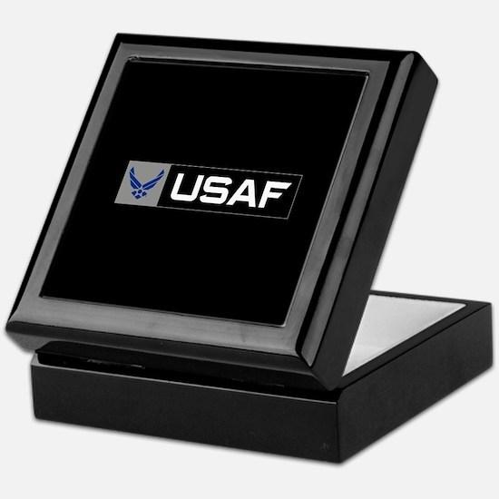 Logo USAF Keepsake Box