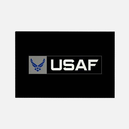 Logo USAF Rectangle Magnet