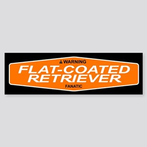 FLAT-COATED RETRIEVER Bumper Sticker