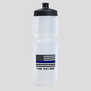 Thin Blue Line Sports Bottle