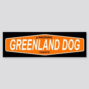 GREENLAND DOG Bumper Sticker