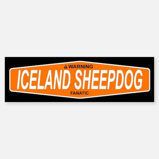 ICELAND SHEEPDOG Bumper Bumper Bumper Sticker