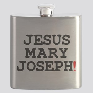 JESUS MARY JOSEPH! Flask