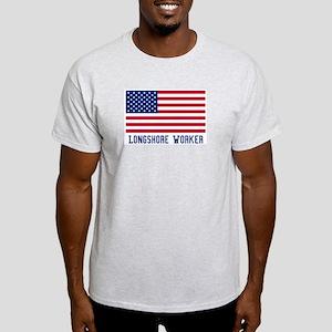 Ameircan Longshore Worker Light T-Shirt