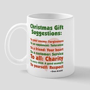 Christmas Gift Suggestions Mug
