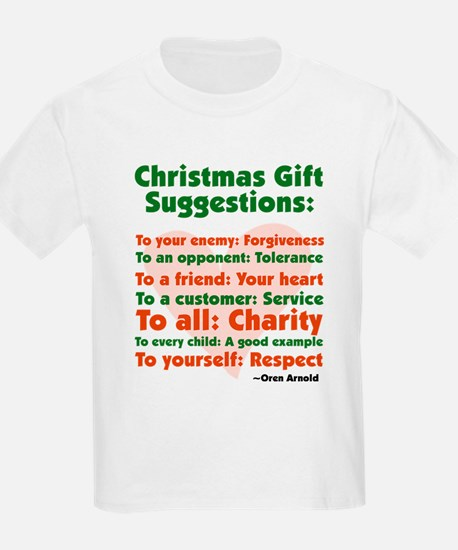 Christmas Gift Suggestions T-Shirt