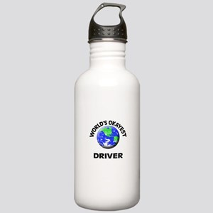 World's Okayest Driver Stainless Water Bottle 1.0L