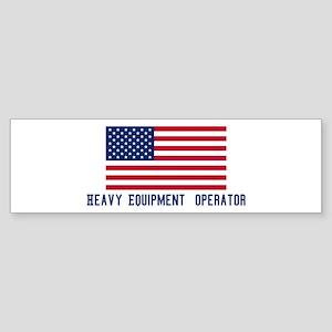Ameircan Heavy Equipment Ope Bumper Sticker