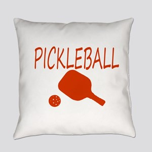 Pickleball with ball and paddle sport Everyday Pil