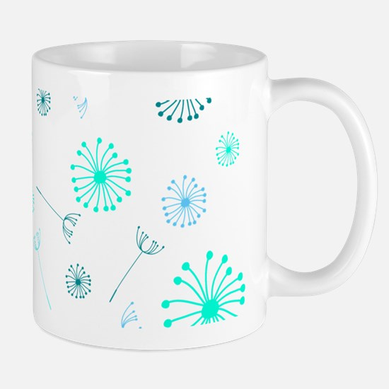 Dandelion Clocks Mugs