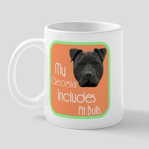 My Georgia Includes Pit Bulls Mug