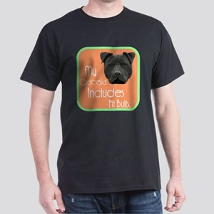 My Georgia Includes Pit Bulls Dark T-Shirt