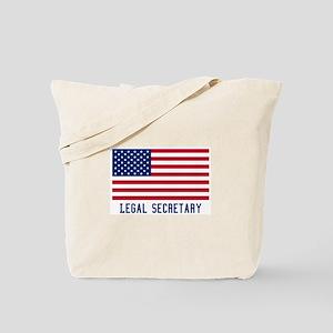 Ameircan Legal Secretary Tote Bag