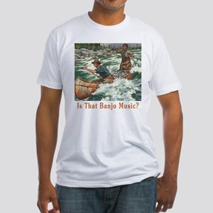 IsThat Banjo Music? Fitted T-Shirt