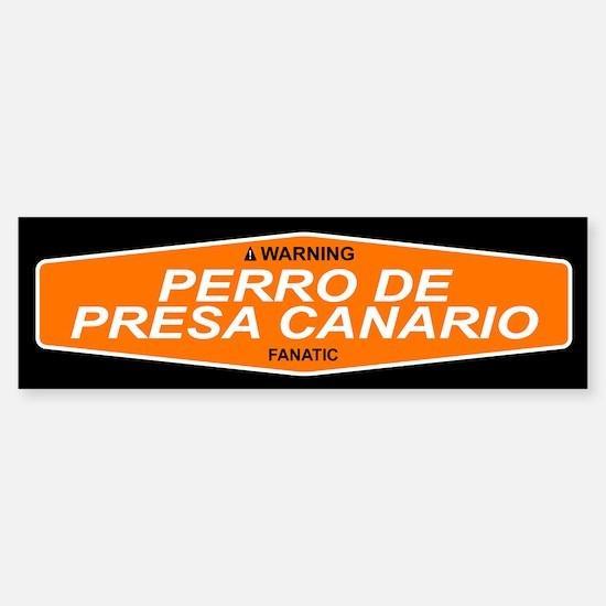 PERRO DE PRESA CANARIO Bumper Bumper Bumper Sticker