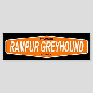 RAMPUR GREYHOUND Bumper Sticker