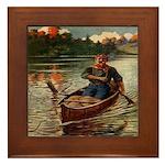 Paddle Faster Framed Tile