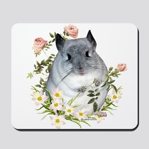 Chin with Rose Mousepad