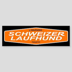 SCHWEIZER LAUFHUND Bumper Sticker