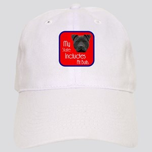 My State Includes Pit Bulls Cap