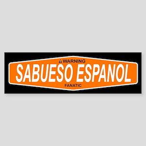 SABUESO ESPANOL Bumper Sticker