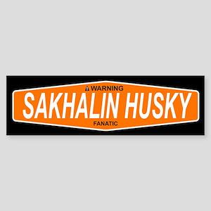 SAKHALIN HUSKY Bumper Sticker