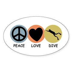 https://i3.cpcache.com/product/187884571/peace_love_dive_oval_decal.jpg?side=Front&color=White&height=240&width=240