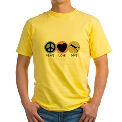 https://i3.cpcache.com/product/187884600/peace_love_dive_t.jpg?color=Yellow&height=240&width=240