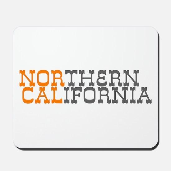 NORTHERN CALIFORNIA Mousepad