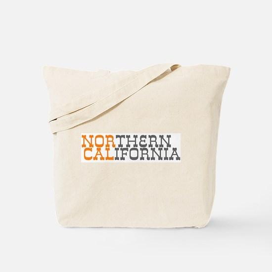 NORTHERN CALIFORNIA Tote Bag